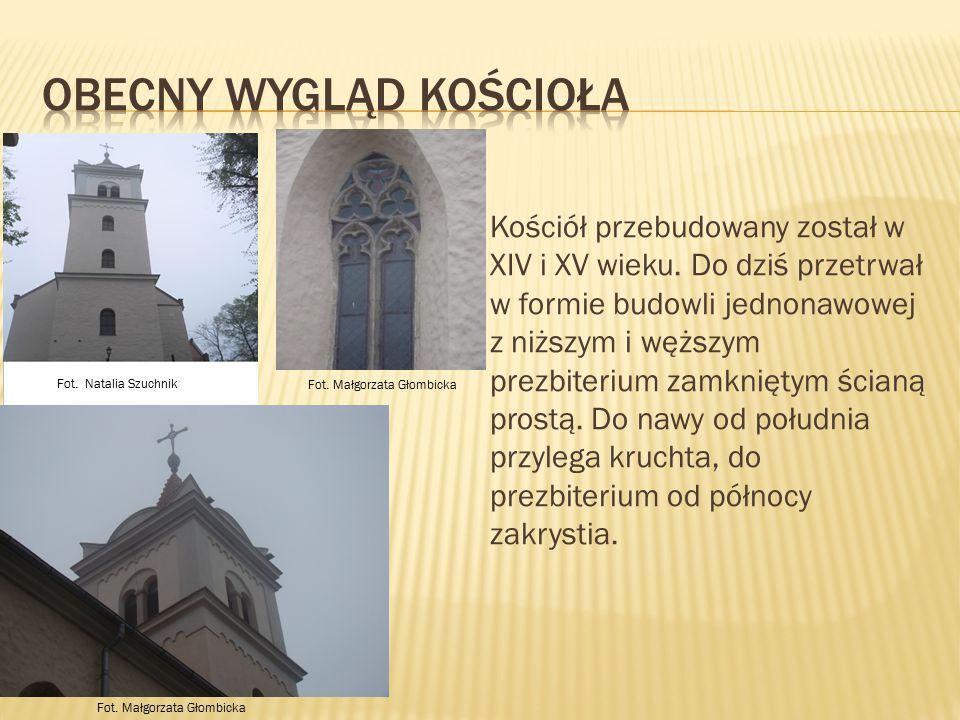 Obecny wygląd kościoła