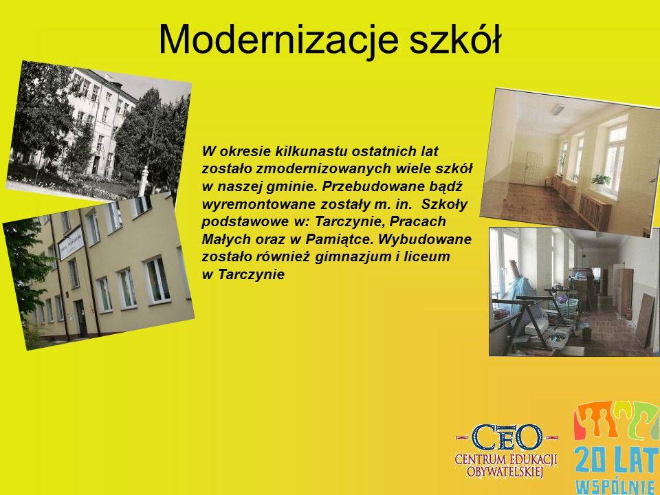 Modernizacje szkół