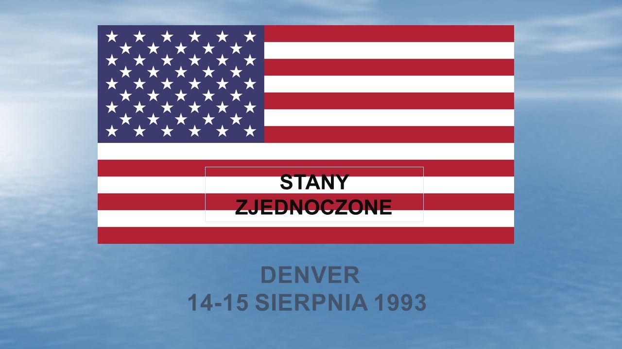 STANY ZJEDNOCZONE Denver 14-15 sierpnia 1993