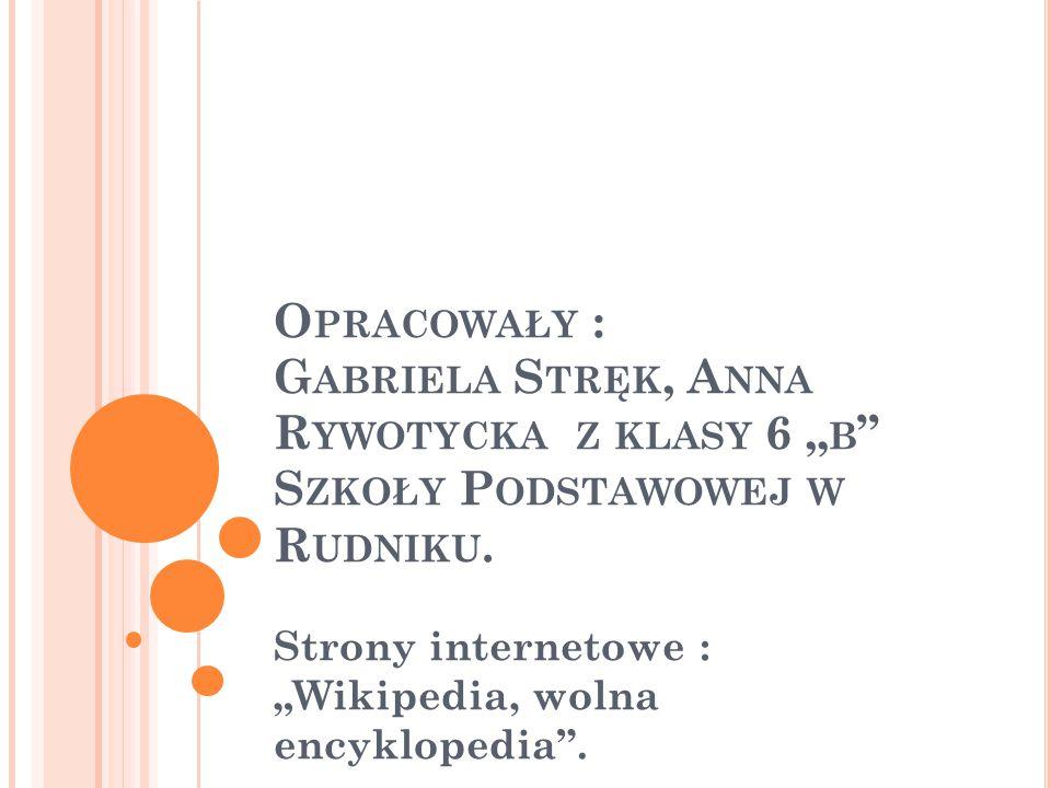 """Strony internetowe : """"Wikipedia, wolna encyklopedia ."""