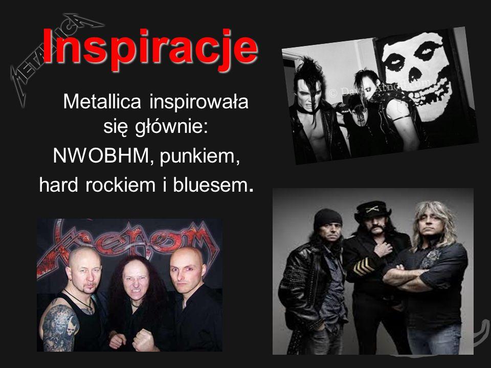 Metallica inspirowała się głównie: