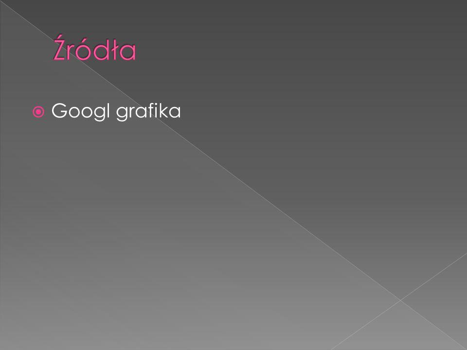 Źródła Googl grafika