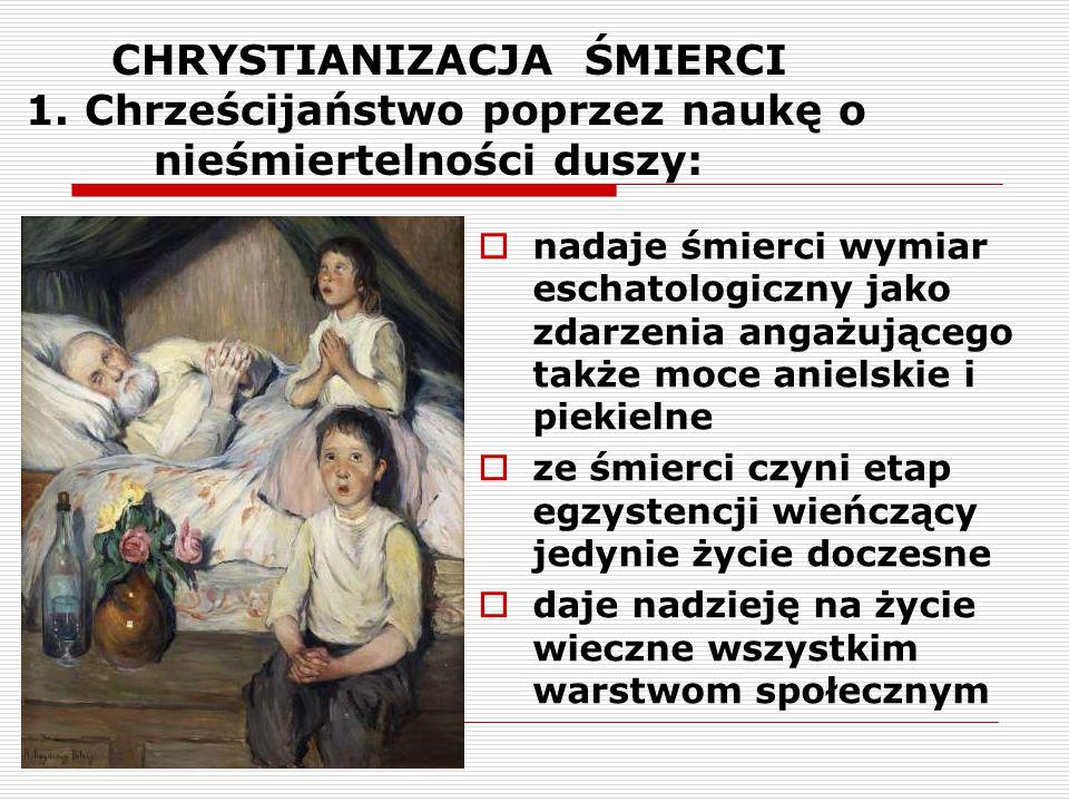 CHRYSTIANIZACJA ŚMIERCI 1
