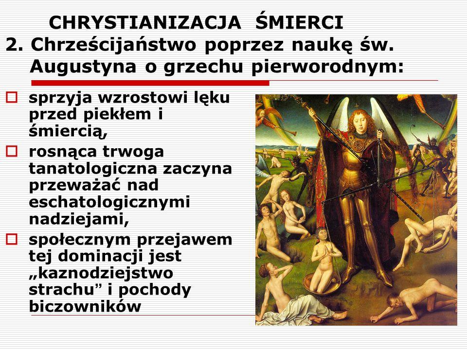 CHRYSTIANIZACJA ŚMIERCI 2. Chrześcijaństwo poprzez naukę św