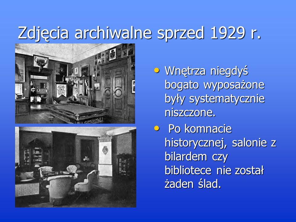 Zdjęcia archiwalne sprzed 1929 r.