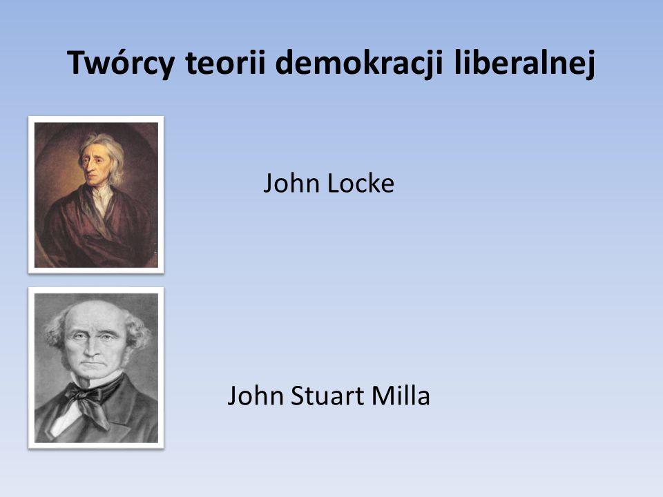 Twórcy teorii demokracji liberalnej