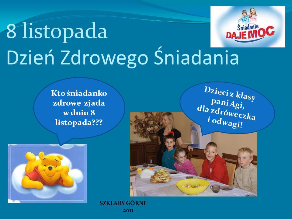 8 listopada Dzień Zdrowego Śniadania