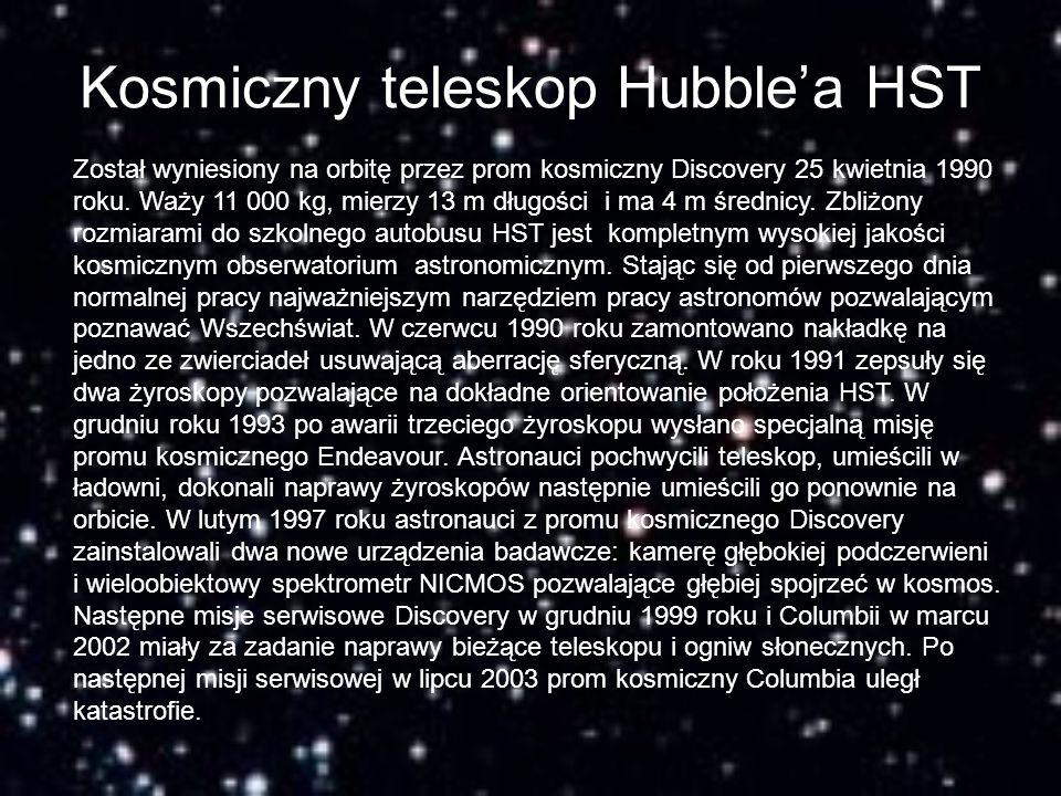 Kosmiczny teleskop Hubble'a HST