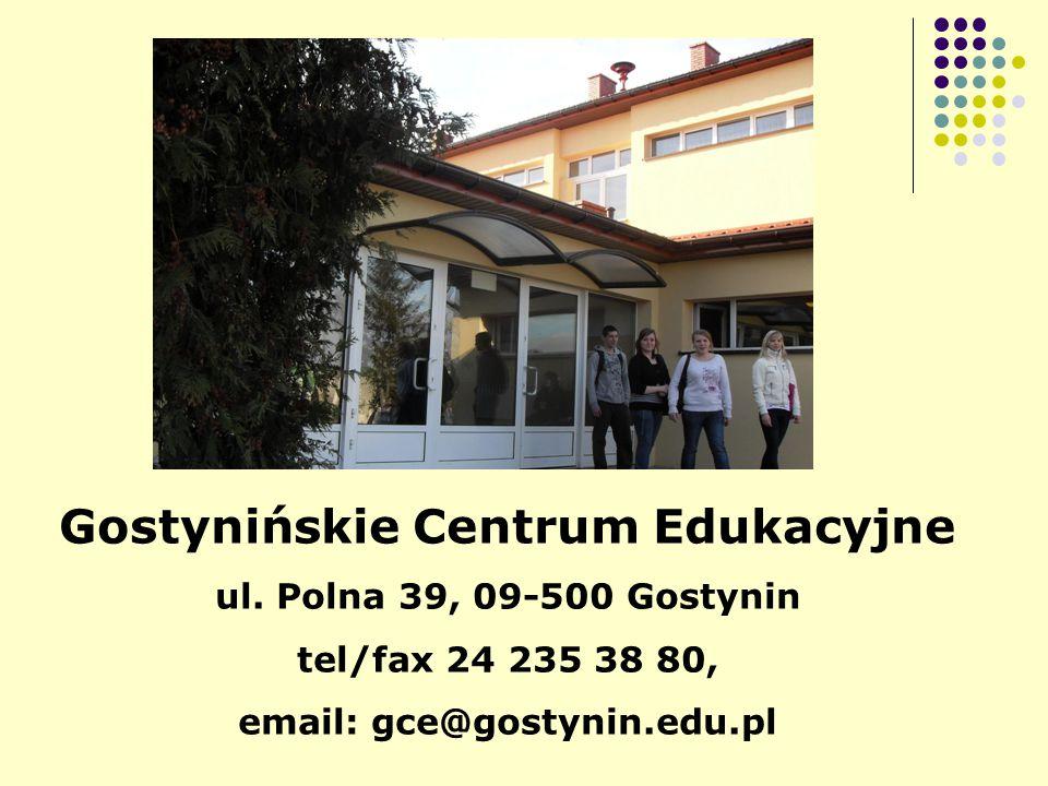 Gostynińskie Centrum Edukacyjne