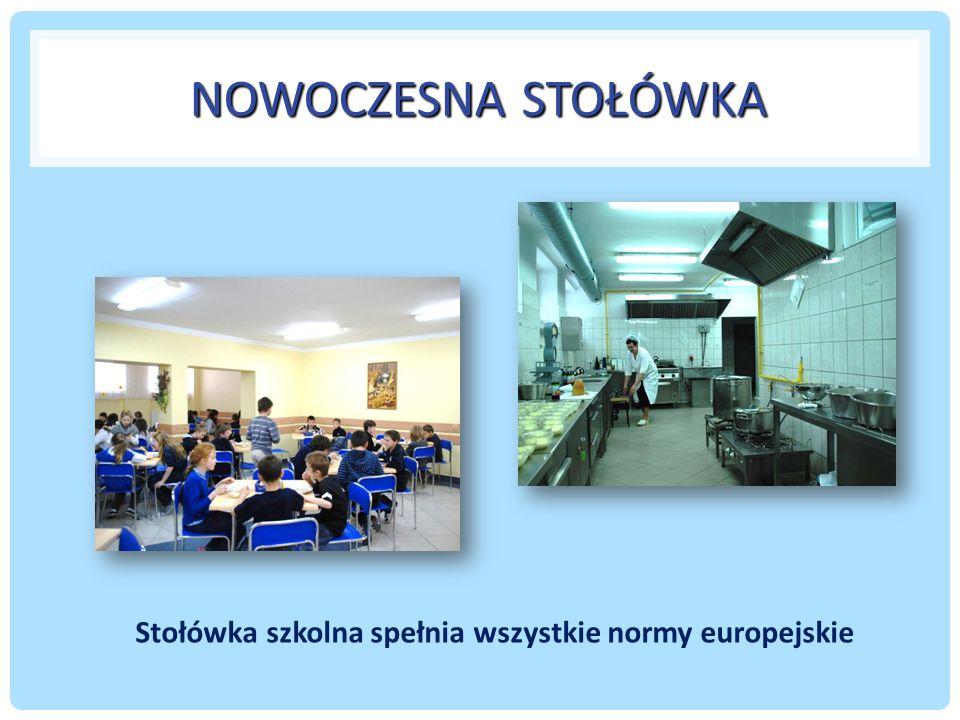 Stołówka szkolna spełnia wszystkie normy europejskie