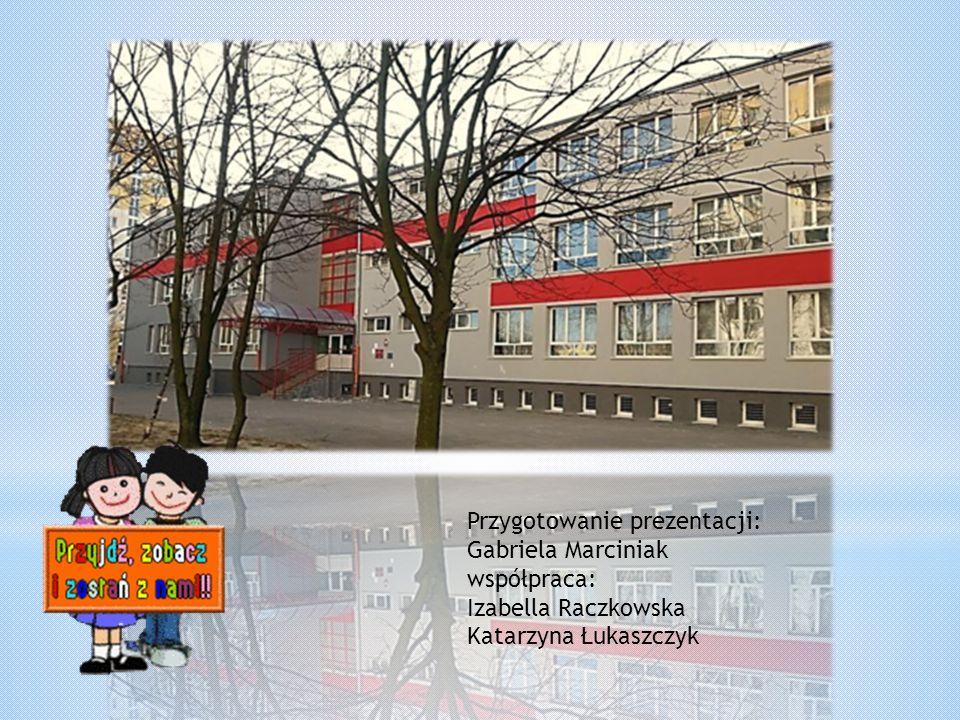 Przygotowanie prezentacji: Gabriela Marciniak współpraca: