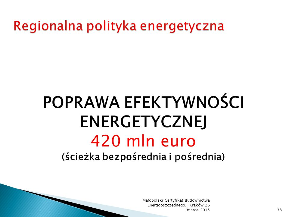 Regionalna polityka energetyczna