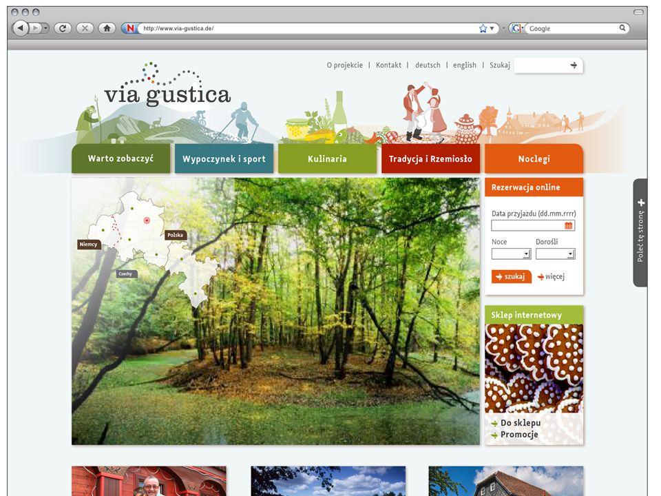Platforma internetowa www. via-gustica. pl