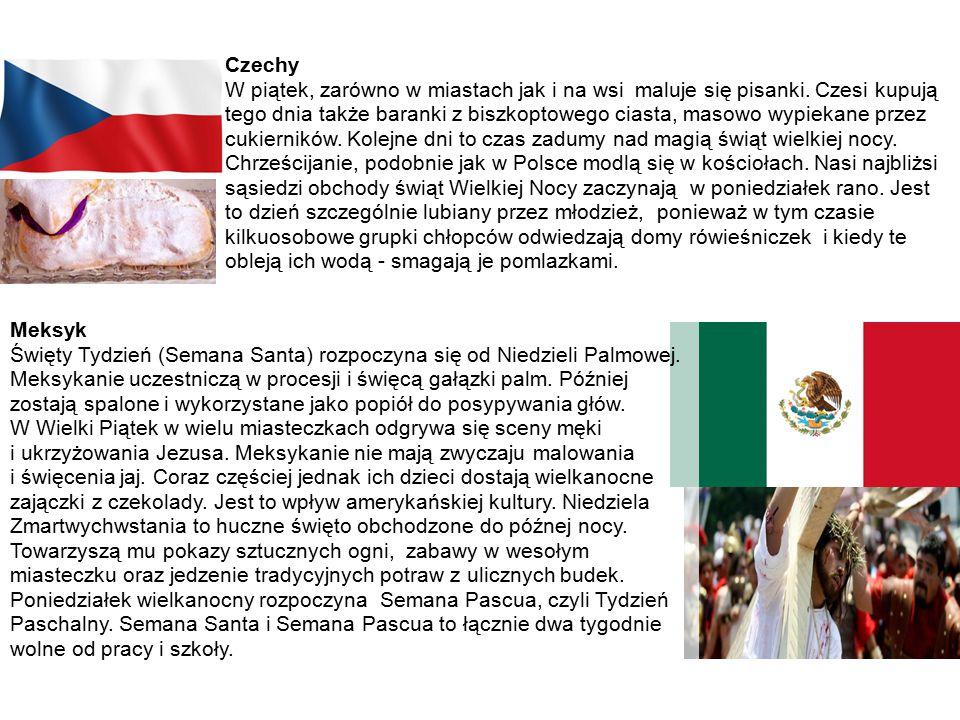 Czechy W piątek, zarówno w miastach jak i na wsi maluje się pisanki