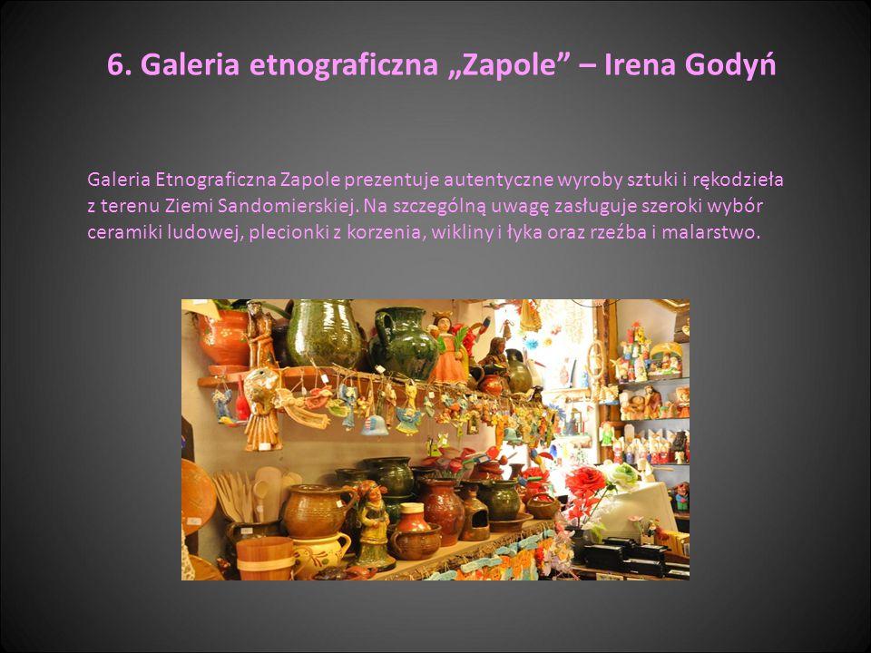 "6. Galeria etnograficzna ""Zapole – Irena Godyń"