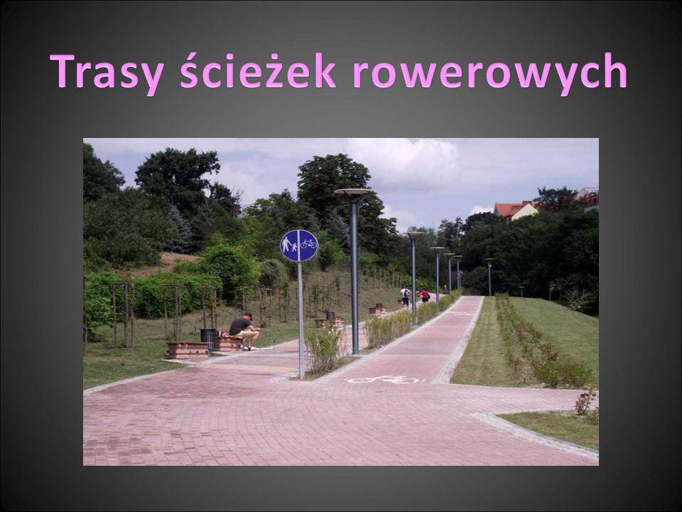 Trasy ścieżek rowerowych