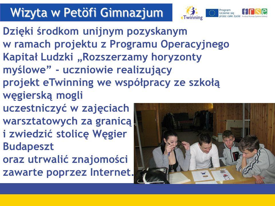 Wizyta w Petöfi Gimnazjum