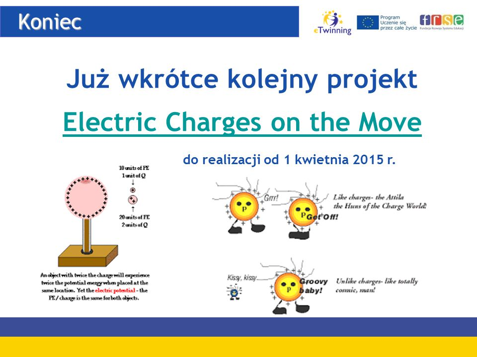 Już wkrótce kolejny projekt Electric Charges on the Move