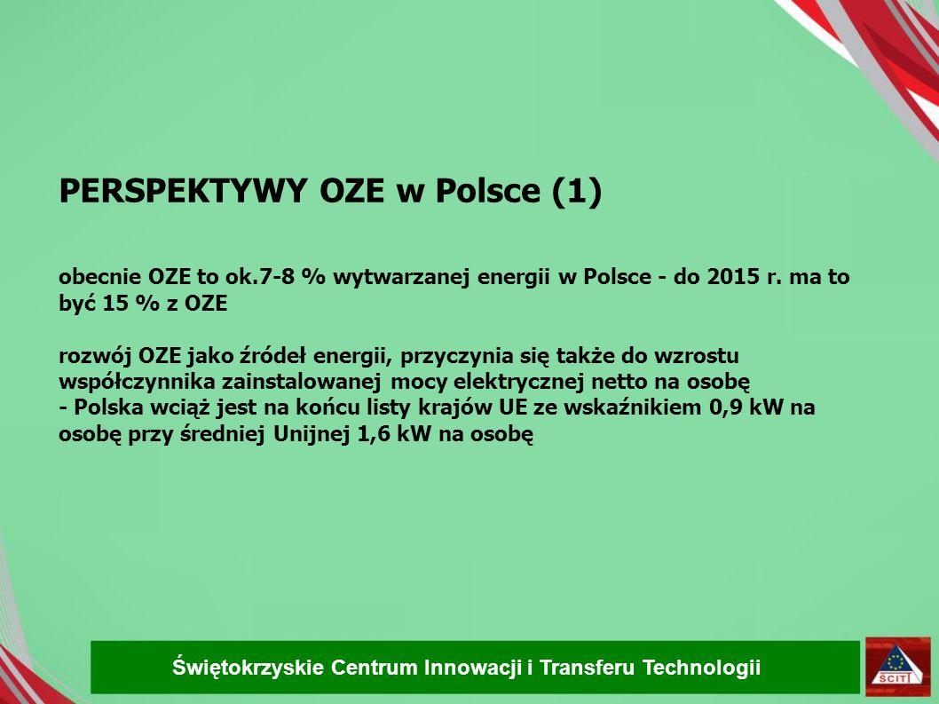 PERSPEKTYWY OZE w Polsce (1)