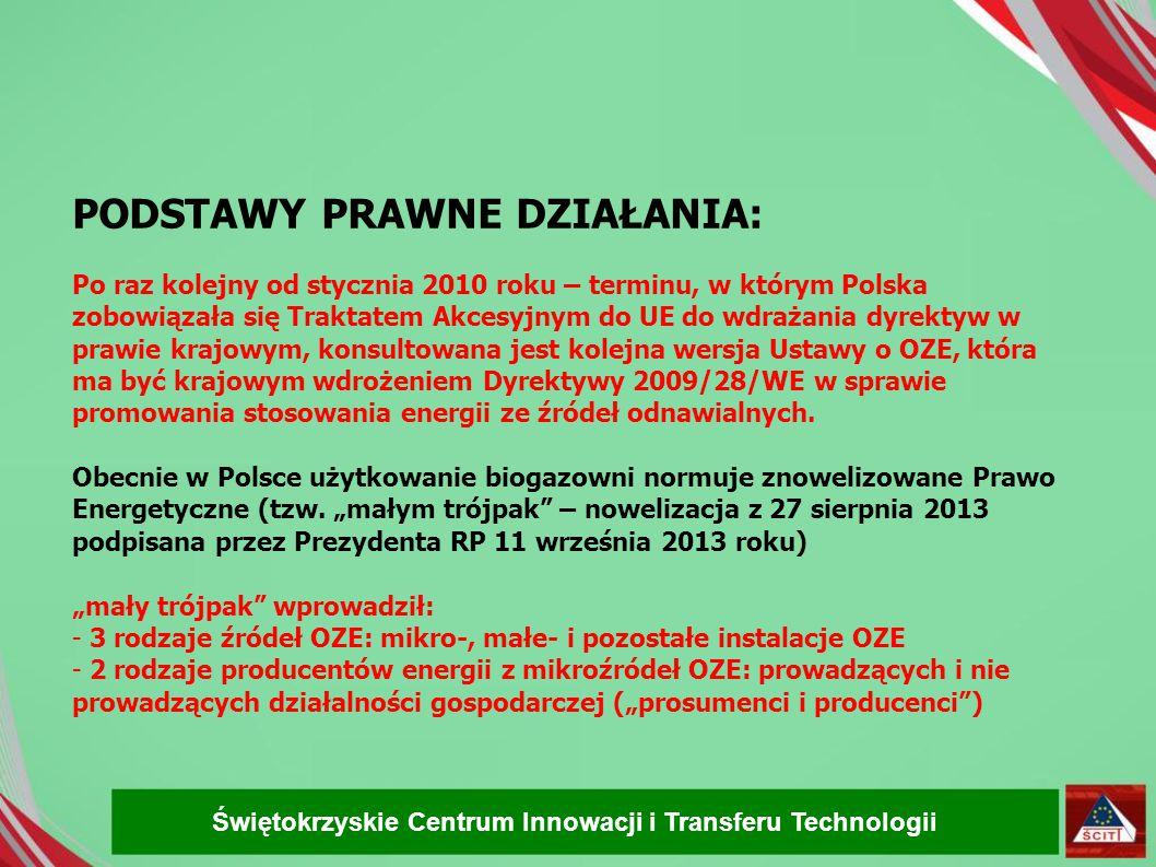 PODSTAWY PRAWNE DZIAŁANIA: Po raz kolejny od stycznia 2010 roku – terminu, w którym Polska zobowiązała się Traktatem Akcesyjnym do UE do wdrażania dyrektyw w prawie krajowym, konsultowana jest kolejna wersja Ustawy o OZE, która ma być krajowym wdrożeniem Dyrektywy 2009/28/WE w sprawie promowania stosowania energii ze źródeł odnawialnych.