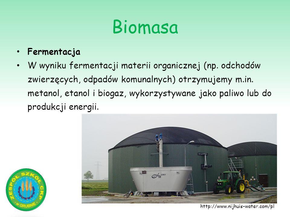 Biomasa Fermentacja.