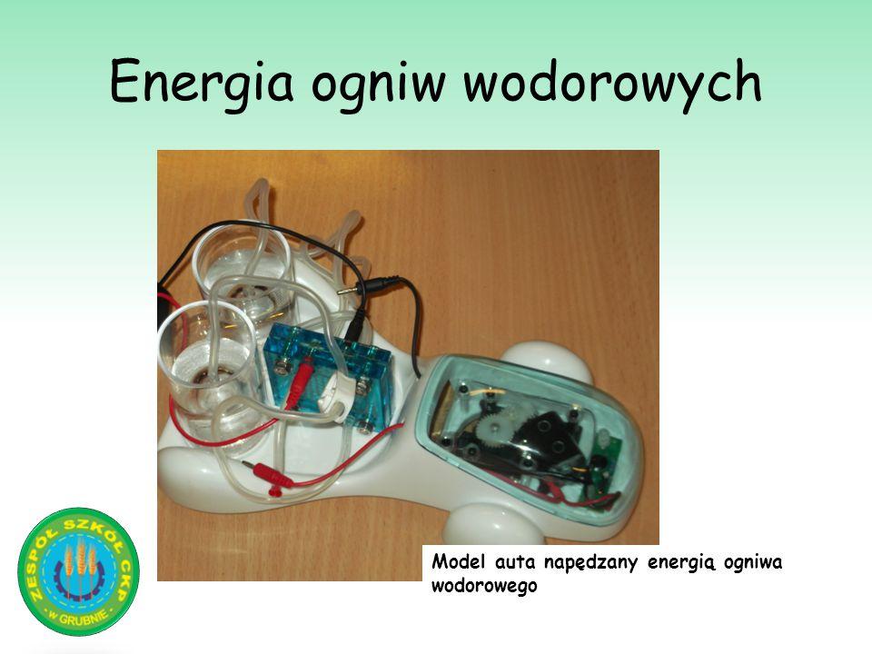 Energia ogniw wodorowych