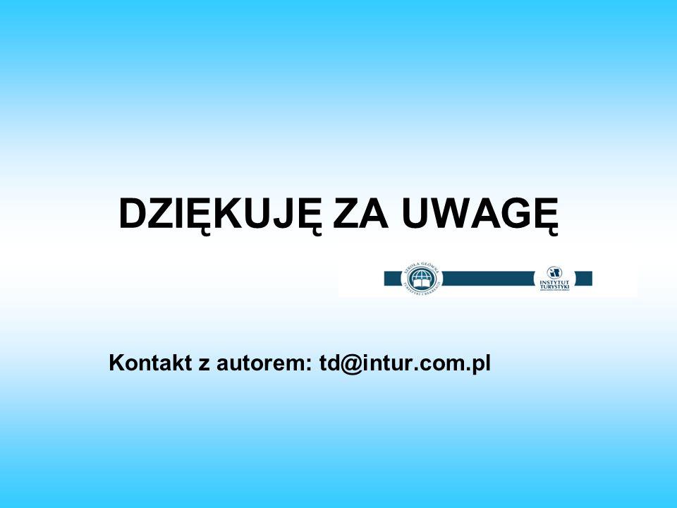 Kontakt z autorem: td@intur.com.pl