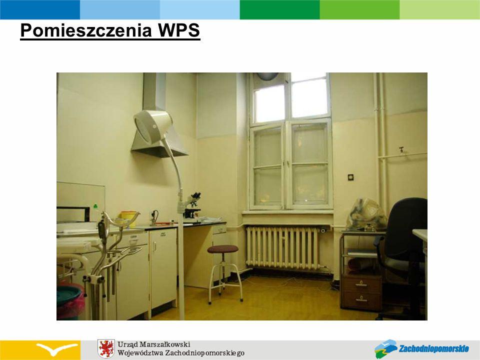 Pomieszczenia WPS