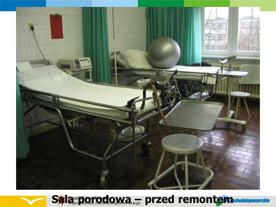 Sala porodowa – przed remontem