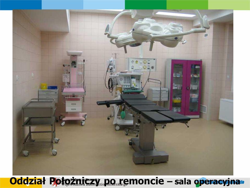 Oddział Położniczy po remoncie – sala operacyjna