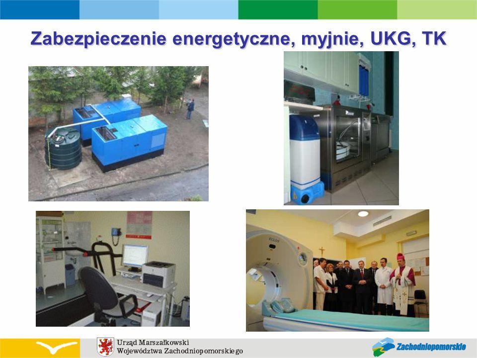 Zabezpieczenie energetyczne, myjnie, UKG, TK