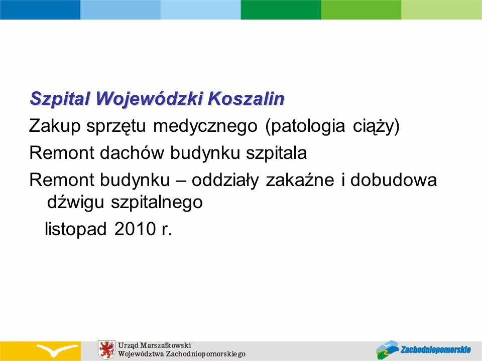 Szpital Wojewódzki Koszalin