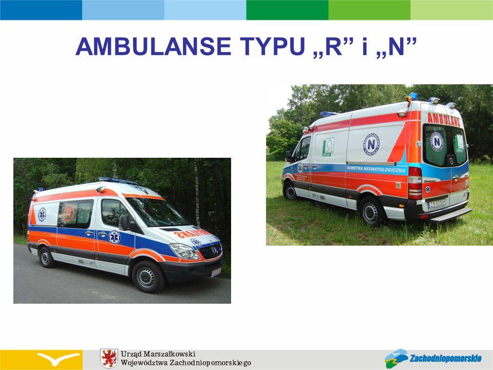 "AMBULANSE TYPU ""R i ""N"