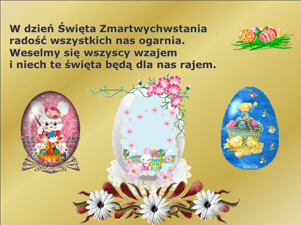 W dzień Święta Zmartwychwstania radość wszystkich nas ogarnia