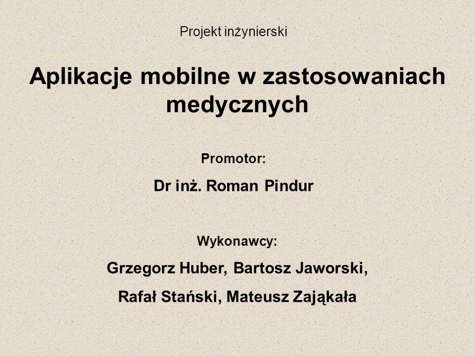 Aplikacje mobilne w zastosowaniach medycznych
