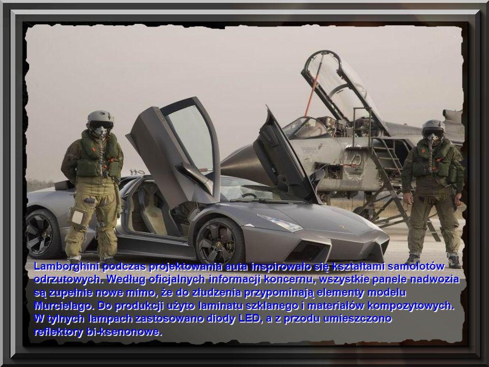 Lamborghini podczas projektowania auta inspirowało się kształtami samolotów odrzutowych. Według oficjalnych informacji koncernu, wszystkie panele nadwozia są zupełnie nowe mimo, że do złudzenia przypominają elementy modelu Murcielago. Do produkcji użyto laminatu szklanego i materiałów kompozytowych. W tylnych lampach zastosowano diody LED, a z przodu umieszczono