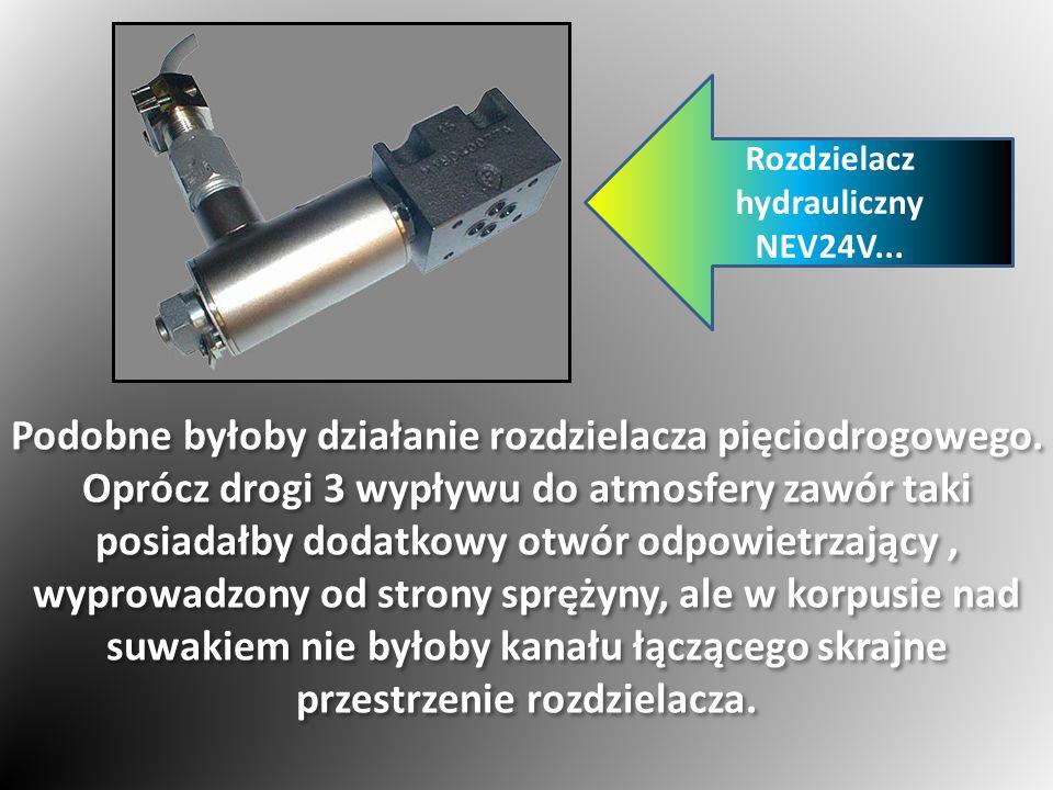 Rozdzielacz hydrauliczny NEV24V...