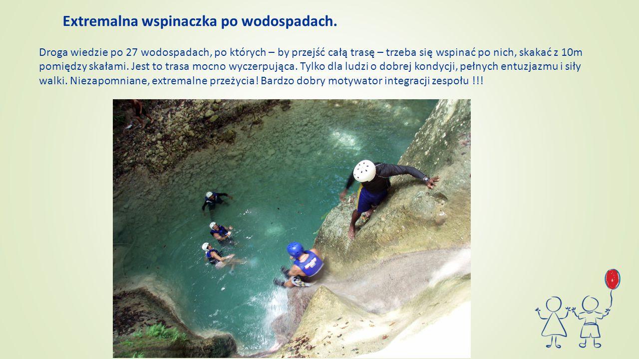 Extremalna wspinaczka po wodospadach