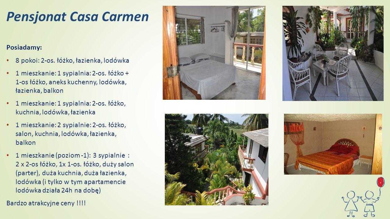 Pensjonat Casa Carmen Posiadamy: