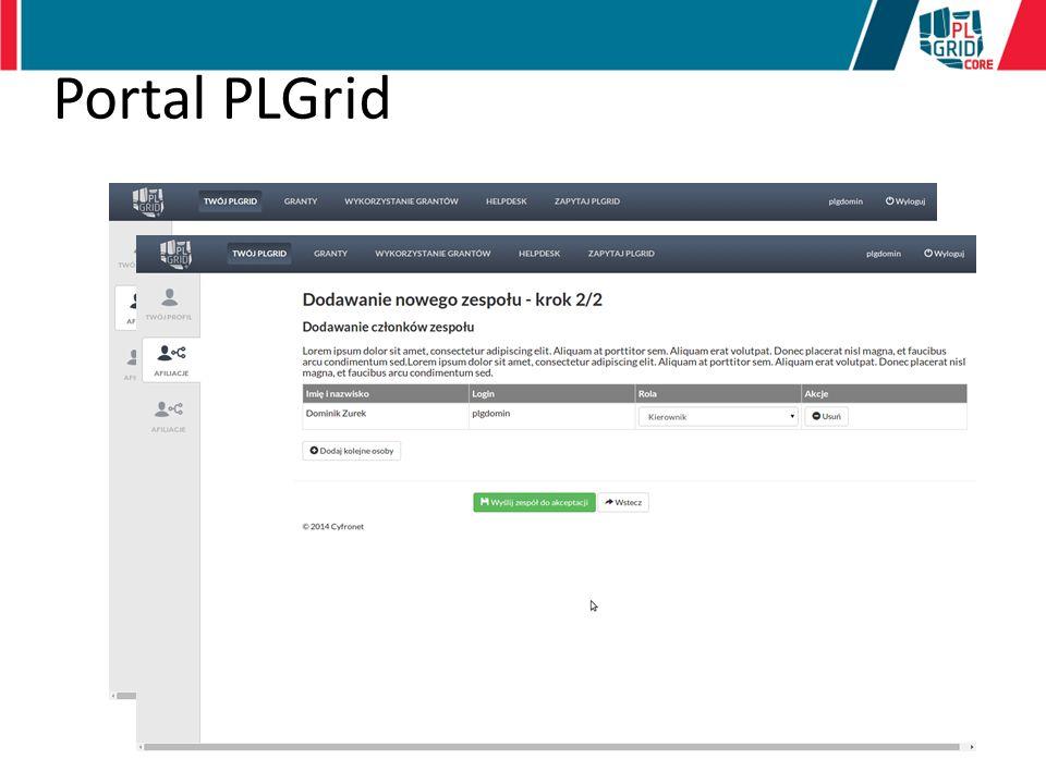 Portal PLGrid