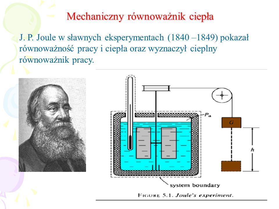 Mechaniczny równoważnik ciepła
