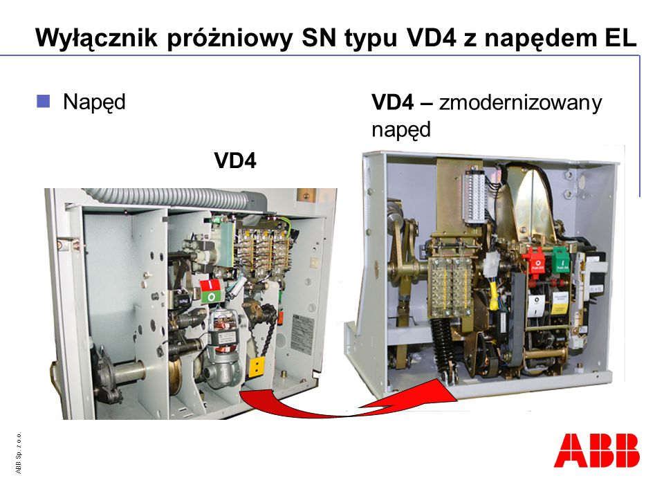 Napęd VD4 – zmodernizowany napęd VD4