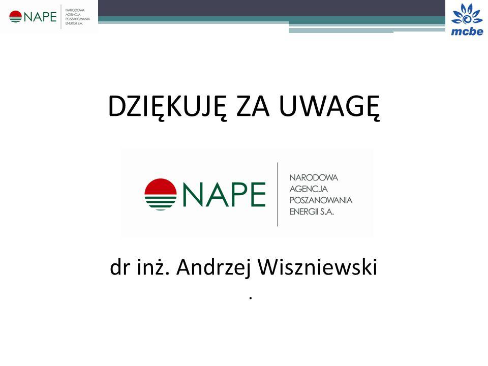 dr inż. Andrzej Wiszniewski .