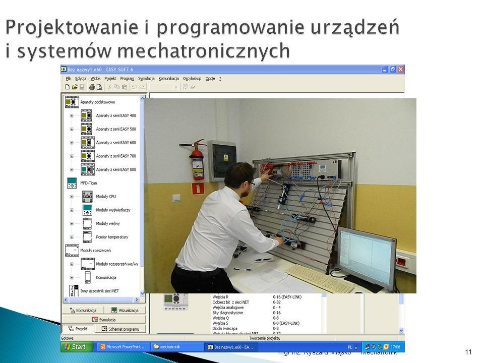 Projektowanie i programowanie urządzeń i systemów mechatronicznych