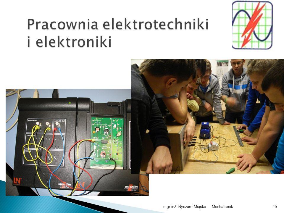 Pracownia elektrotechniki i elektroniki