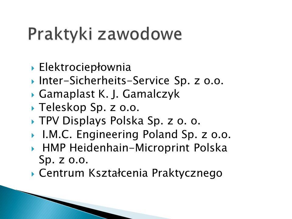 Praktyki zawodowe Elektrociepłownia