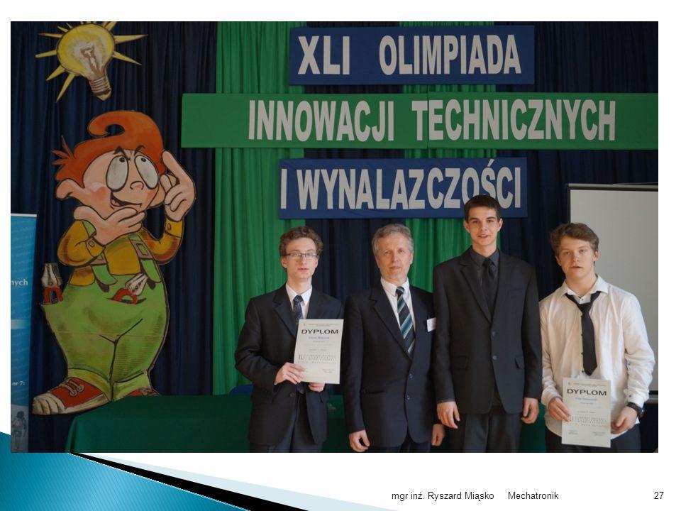 XLI Olimpiada Innowacji Technicznych i Wynalazczości