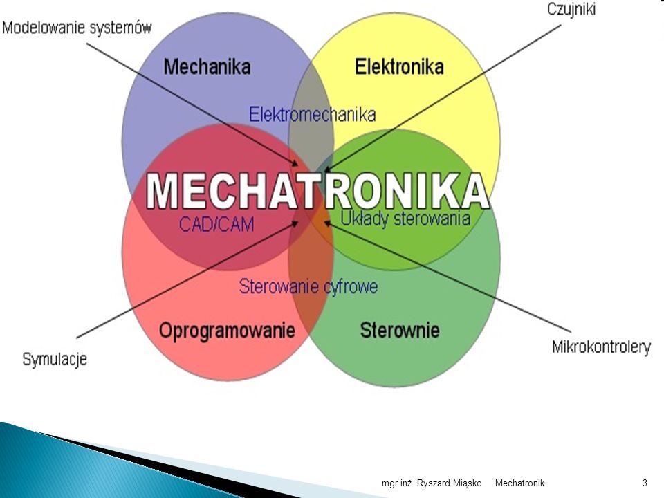 mgr inż. Ryszard Miąsko Mechatronik