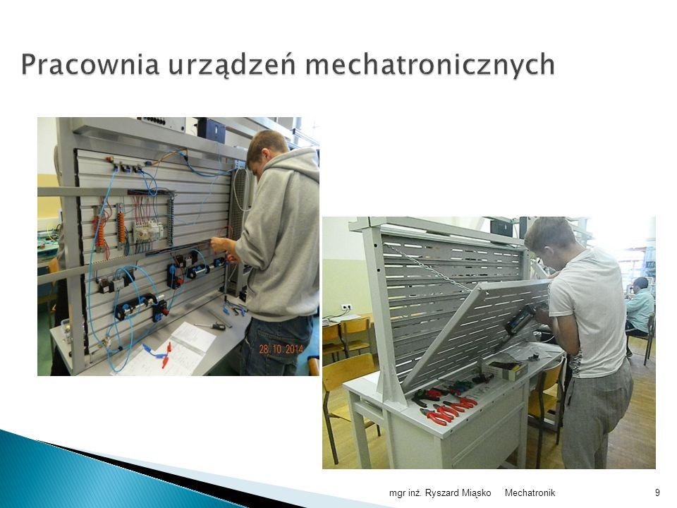 Pracownia urządzeń mechatronicznych