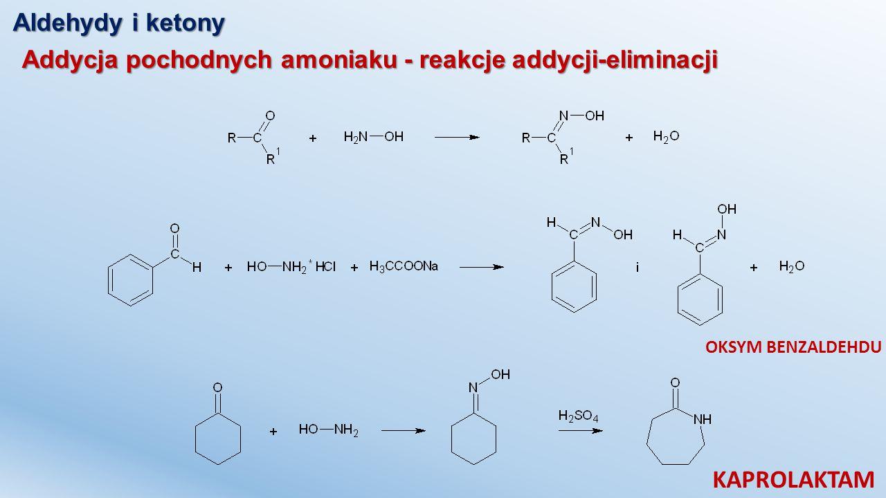 KAPROLAKTAM Aldehydy i ketony
